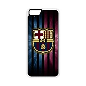 Barcelona iPhone 6 Plus 5.5 Inch Cell Phone Case White Sfyq