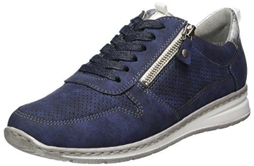Indigo Sneaker Donna Blau Sapporo silber Jenny I7ga0wqW