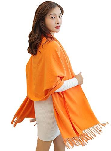 Femme Acvip Acvip Orange Echarpe Femme Orange Femme Echarpe Echarpe Orange Acvip Acvip Echarpe q1wfOtxItd