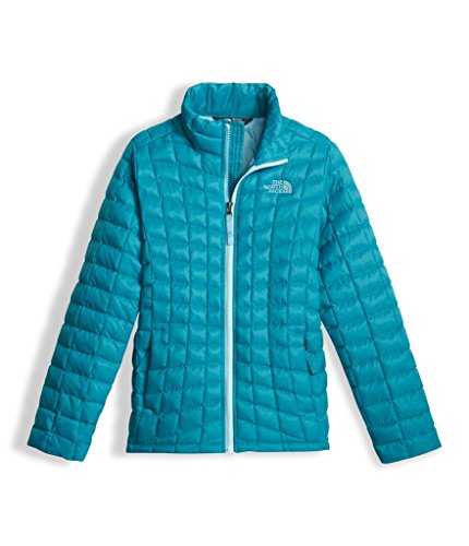 The North Face Girls Thermoball Full Zip Jacket Algiers Blue (Medium) by The North Face