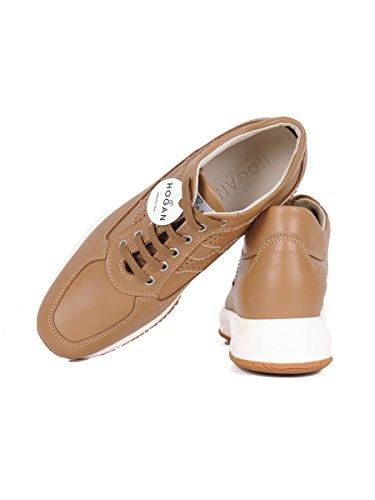 Hogan Damen HXW00N00E30D0W9997 Braun Leder Sneakers