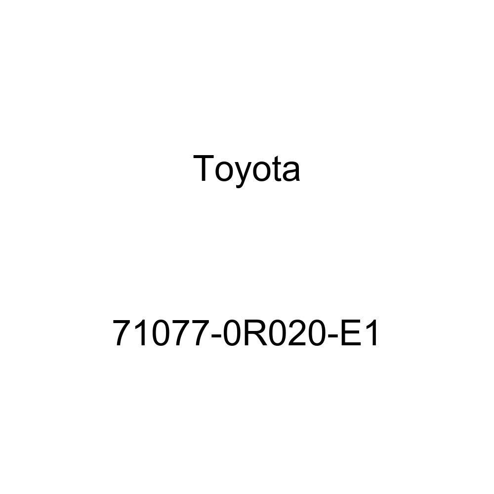 TOYOTA Genuine 71077-0R020-E1 Seat Back Cover