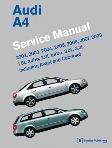 2002 audi a4 service manual - 3