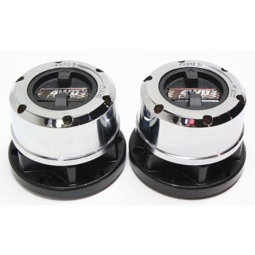 Perfect Fit Group Repn287001   Pathfinder Locking Hub  Manual  Set Of 2  28 Splines  6 Bolt