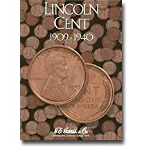Harris Coin Folder - Lincoln Cents #1 Folder 1909-1940 - 8HRS2672 by Unknown
