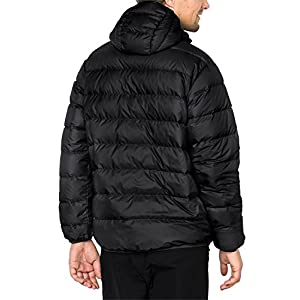 Jack Wolfskin Men's Helium Jacket, Black, Large