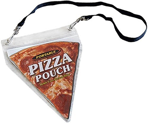 Portable Pizza Pouch - Great Gag Gift, Stocking Stuffer, Or For The...