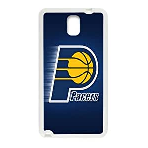 Indiana Pacers NBA White Phone Case for Samsung Galaxy Note3 Case