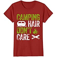 Camping Hair Don't Care Shirt for Man Woman or Kids