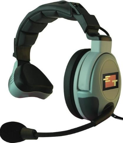Eartec MX3GS Flex Max Single Headset for use with COMSTAR Systems