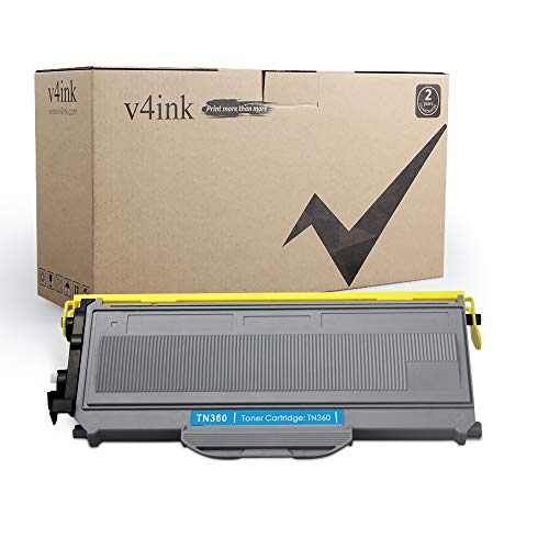 (V4INK Compatible Toner Cartridge Replacement for Brother TN360 TN330 Toner Black Ink High Yield for Brother HL-2140 HL-2170W DCP-7030 DCP-7040 Brother MFC-7340 MFC-7345N MFC-7440N MFC-7840W Printer)