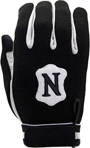 (Adams USA Neumann Touchscreen Cold Weather Coach/Referee Gloves Black/White, Medium)