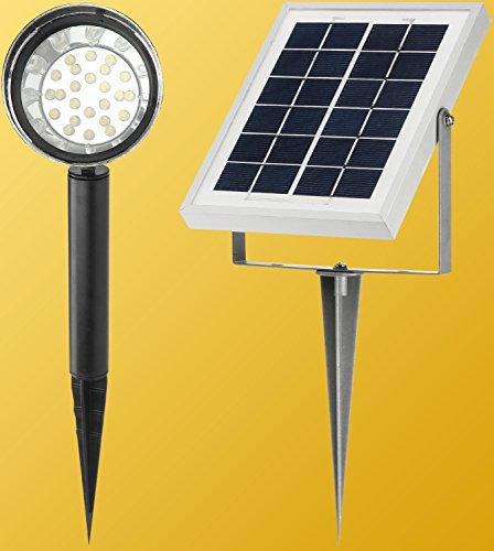 Microsolar Warm White 24 Led Lithium Battery