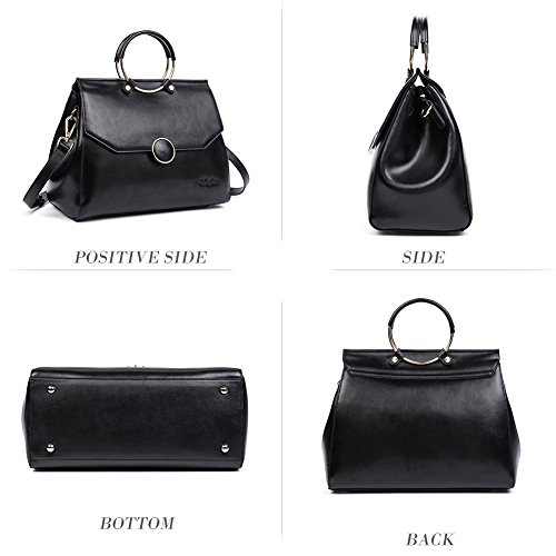 Leather Tote Black Shoulder Clearance Designer Women's Sale 8 Handle Bag Bag Ladies Handbag Purse Top Hobo wx814A1qEW