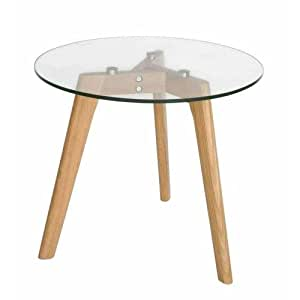Stad Round Side Table - Natural