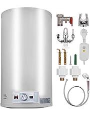 VEVOR 110 l/90 l/70 l/40 l elektrische boiler 1 kW/2 kW warmwaterbereider met tank