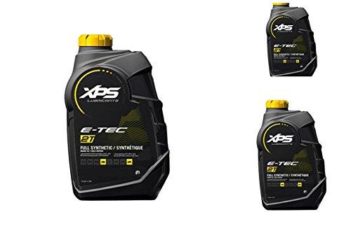 BRP Ski-Doo Can-Am Sea-Doo XPS New OEM 2-Stroke Synthetic Oil 3 Quarts, 779126