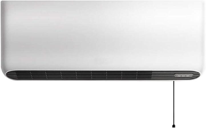 Zezhou Radiateur Soufflant Mural Salle De Bains Radiateur Ceramique 2000w 3s Speed Heat Ipx4 Etanche Thermostat Reglage 3 Vitesses Switch Blanc Cable Amazon Fr Cuisine Maison