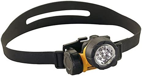 Streamlight 61024 Septor HAZ-LO Division 1 Headlamp, Alkaline Yellow – 85 Lumens