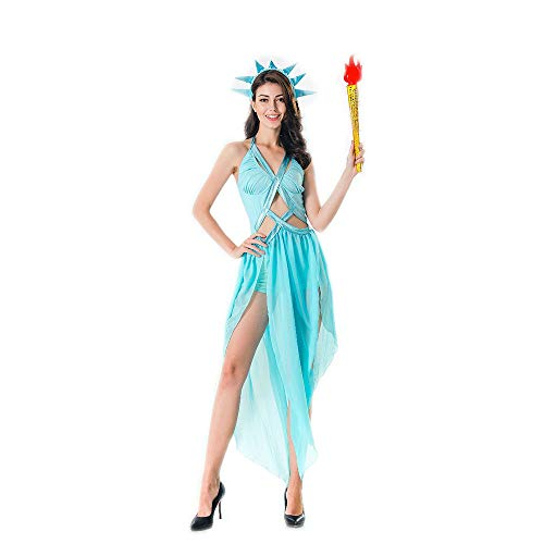 LVLUOYE Halloween Uniform, Ancient Greek Mythology Goddess Uniform, Venus Princess Costume, Cleopatra -
