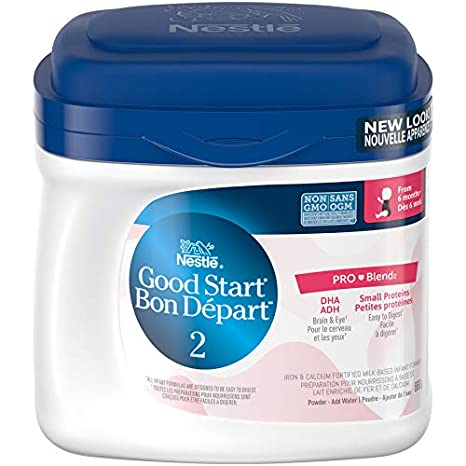 NESTLÉ GOOD START 2 with DHA & ARA, Powder, 660g Nestle Canada