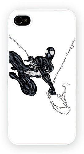 Black Spiderman Art Design, iPhone 5 5S, Etui de téléphone mobile - encre brillant impression