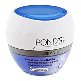 Pond's Face Cream, Crema S Nourishing Moisturizer, 14.1 Ounce (Pack of 3)