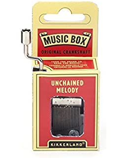 Kikkerland 2454140031 - Caja de música Unchained Melody