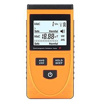 Detector de radiación electromagnético genérico con Pantalla LCD (5Hz - 3500MHz, 1-1999V/m, Detector de Fantasma): Amazon.es: Electrónica