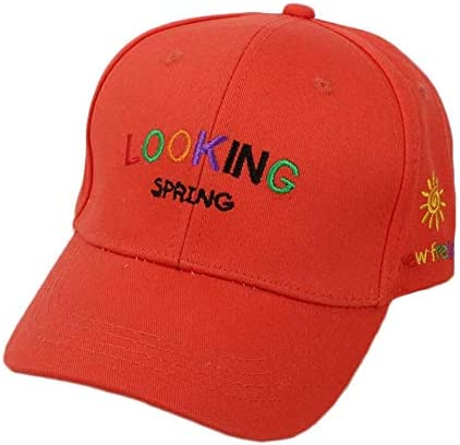 Ruikey 刺繍入り子供用野球帽 を綴ります 旅行やスポーツの練習に適したスタイリッシュな帽子