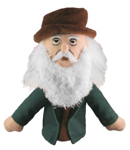 (The Unemployed Philosophers Guild Leonardo da Vinci Finger Puppet and Refrigerator Magnet - for Kids and Adults)