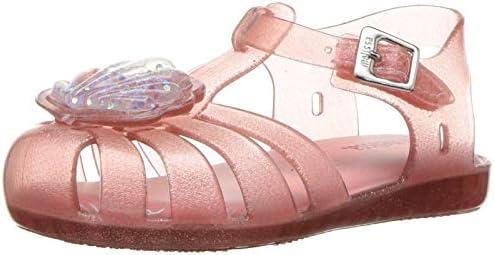 Clear Size 7 Mini Melissa Aranha Ballerina Flat Toddler