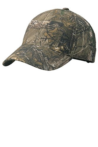 Port Authority Boys' Pro Camouflage Series Cap OSFA Realtree Xtra