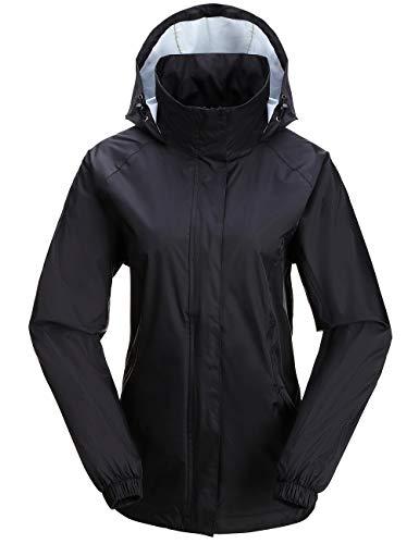 Diamond Candy Women's Mountain Waterproof Jacket Lightweight Packable Coat
