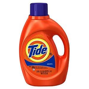 Tide Liquid Laundry Detergent with Acti-Lift, Original Scent, 2.95 L (64 Loads)