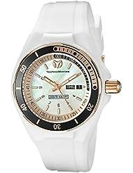 Technomarine Womens TM-115121 Cruise Sport Analog Display Swiss Quartz White Watch