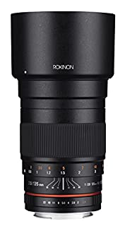 Rokinon 135mm F2.0 ED UMC Telephoto Lens for Fuji X Interchangeable Lens Cameras (B00T48CEK8) | Amazon price tracker / tracking, Amazon price history charts, Amazon price watches, Amazon price drop alerts