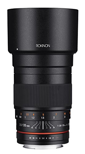 (Rokinon 135mm F2.0 ED UMC Telephoto Lens for Nikon Digital SLR Cameras)