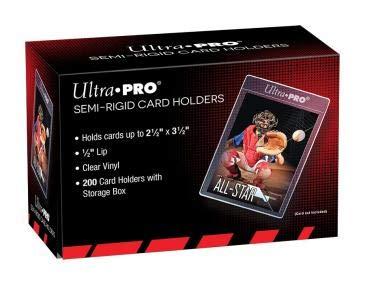 "Ultra Pro Semi-Rigid 1/2"" Lip Sleeves 200ct from Ultra Pro"
