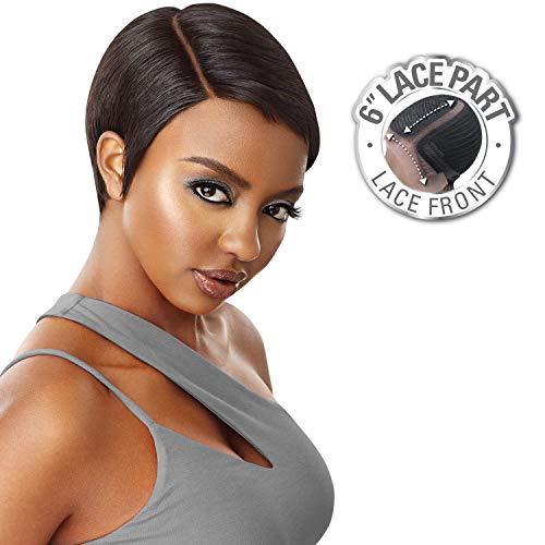 Outre Human Hair Lace Front Wig Premium Duby Diamond Soft Pixie -