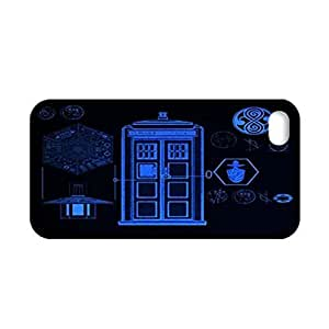 Generic Abstract Phone Cases For Girl Design With Tardis For Apple Iphone 4 4S Choose Design 3