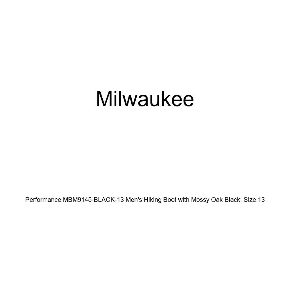 Milwaukee Performance Mens Hiking Boot with Mossy Oak Black Size 13 MBM9145-BLACK-13