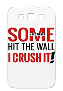 Marcmegna Sports Miscellaneous Red MMCRUSH For Sumsang Galaxy S3 Protective Case