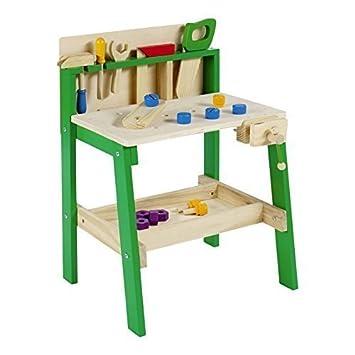 Kinder Werkzeug Werkbank Holz Diy Tablet Arbeiten Kreativ