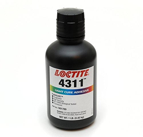 Loctite 1401789 4311 Flashcure Light Cure Instant Adhesive, 1 lb. Bottle by Loctite
