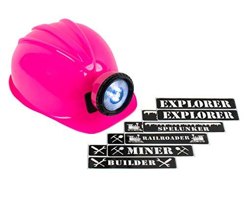 Light-up Hard Hat Including Miner, Railroader, Builder and