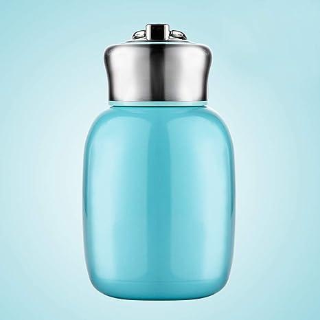 INGHU - Taza de vacío pequeña de Acero Inoxidable con Capacidad de retención de Calor, Botella de café, Termo para Bebidas Calientes, Viaje