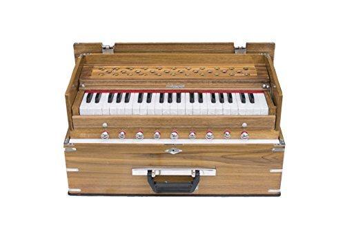 Maharaja Musicals, Kirtan Harmonium, Classic Edition, Natural Color, Model KH1