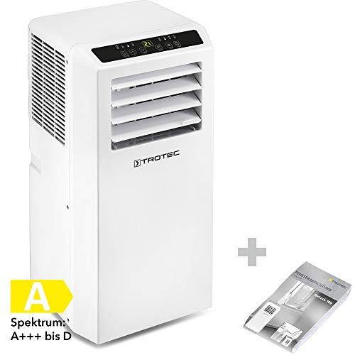 🥇 TROTEC Aire Acondicionado Portátil PAC 2010 SH + Aislamiento de Ventanas AirLock 100/4 en 1: Refrigeración