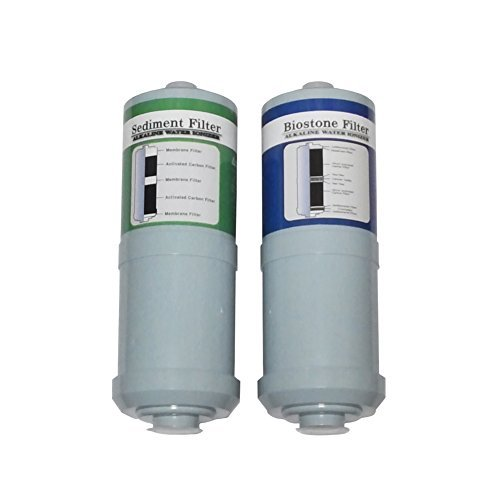 Compatible Replacement Filter Set for Jupiter Ionways ATHENA Water Ionizer by Magicos